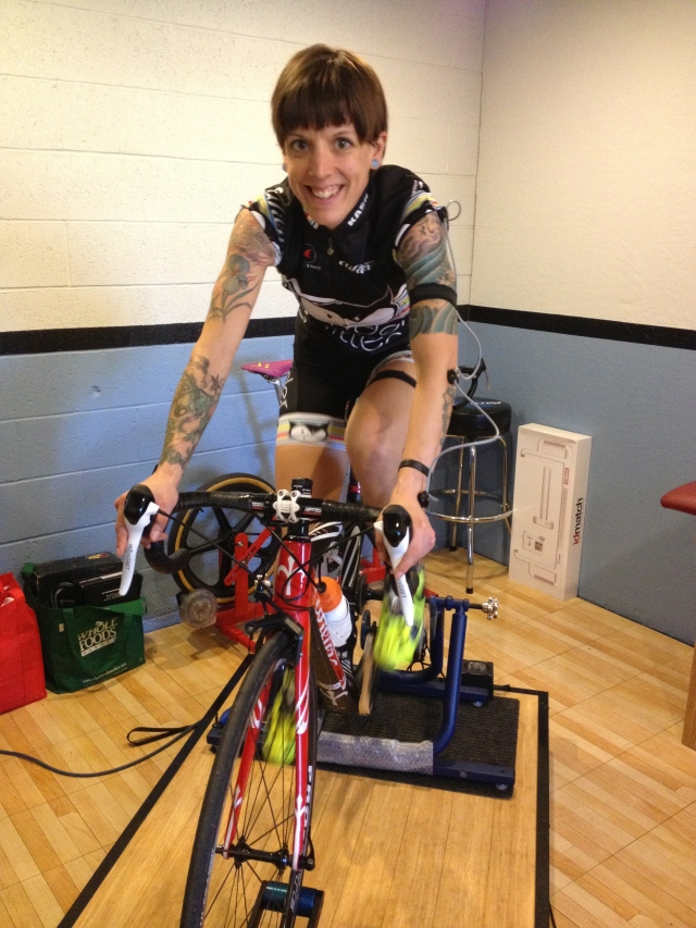 Getting my bike fit on