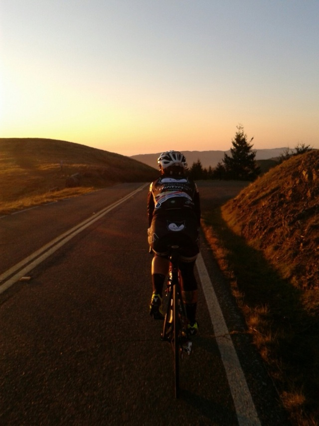 Picture the boss man took. Always love riding with my coach .